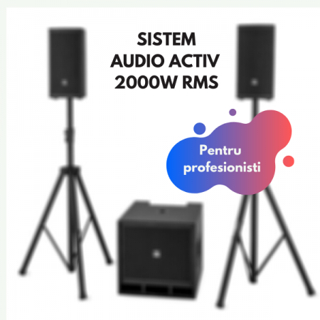 Sistem sonorizare pensiune