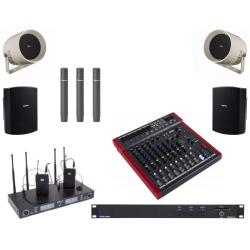 Sistem sonorizare biserica din lemn