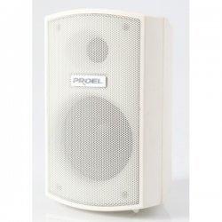 Sistem de sonorizare ambientala pentru restaurant/ pub cu terasa, cu boxe de perete si coloane audio