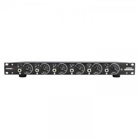 Amplificator pentru casti, 6 canale, rackabil, HPAMP106, Proel