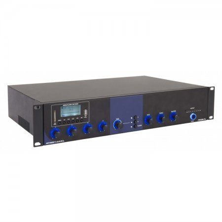 Amplificator combo 160W / 100V,  cu mixer audio si player multimedia ATMP160XL, Proel