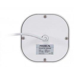 Incinta audio pendanta, 20 W / 100 V, IP 55, certificata EN 54-24, AH50T, Proel