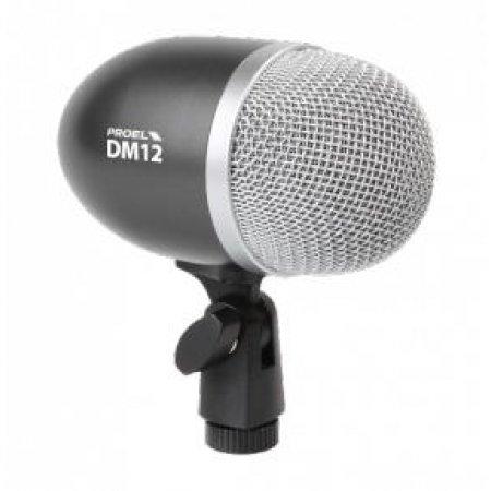 Microfon Super Cardioid pentru Bass, DM 12, Proel