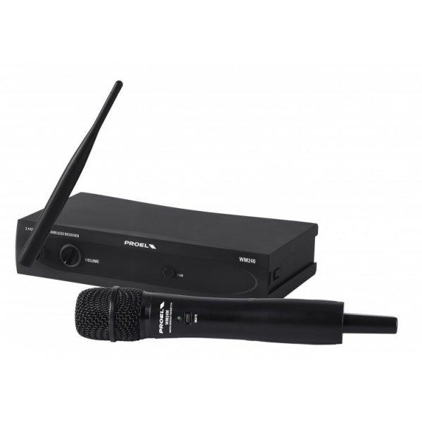 Microfon wireless WM240M – banda 2,4 GHz, Proel