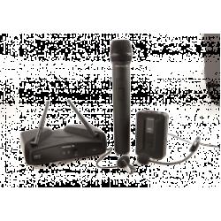 Sistem radiomicrofoane, 1 canal, cu 2 microfoane/set, WM100KIT, Proel