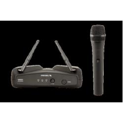 Kit Radiomicrofon UHF cu Microfon Hand-Held, WM 202M, Proel