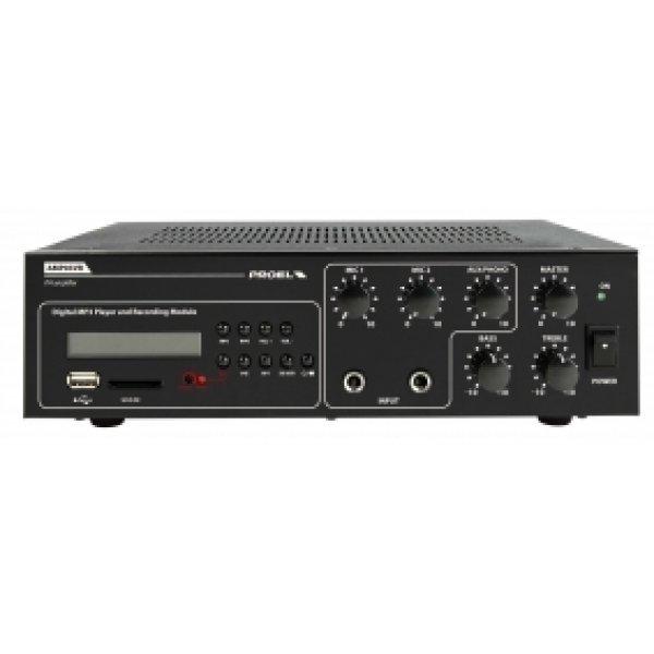 Mixer amplificator, cu Player si Recorder Integrate, AMP03VR, Proel