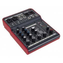 Mixer compact cu 6 canale si procesor efecte  Proel MQ6FX