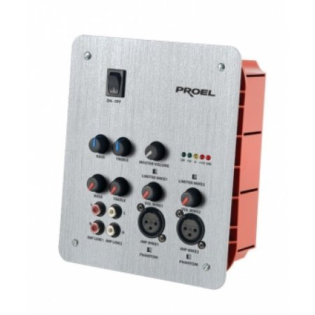 Mixer Preamplificator 2 MIC plus 2 AUX, PREW, Proel
