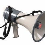 Portavoce cu Microfon, Raza Acoperire 1 Km MEG25 Proel