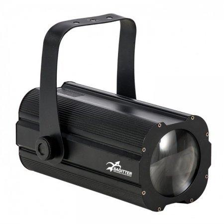 Proiector cu LED COB, 30W, control DMX, SGCOBEAM, Proel Sagitter