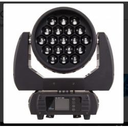 Moving head cu zoom 8*- 62*, led 19 x 15 W RGBW / FC, DMX, SGQUARTZ300, Proel Sagitter