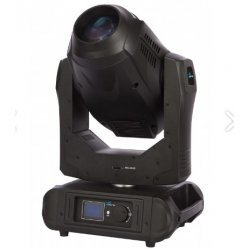 Moving head Spot / Beam, OSRAM SIRIUS HRI 280 W,  cu gobo, colour wheel, BLKARROW, Proel Sagitter