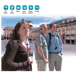 Emitator mobil digital ghidare turisti, TM100E