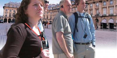 Turul orașului cu sistemul tour guide