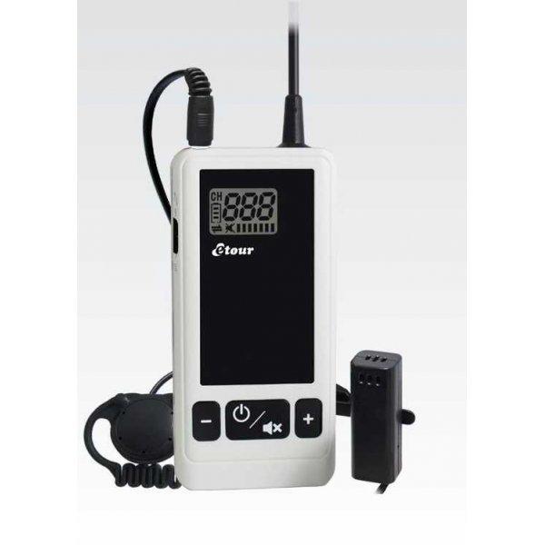 EMITATOR mobil interactiv, cu microfon tip lavaliera, TM201E