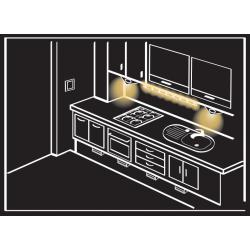 Comutator senzorial, prin atingere – iluminat LED,  WDN-01, LEDIX