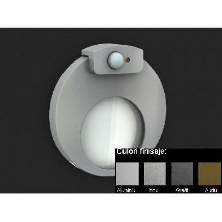 Muna Lampa LED Senzor de miscare + Crepuscular, 14V