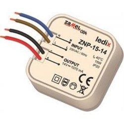 Sursa alimentare LED-uri, 14 V DC/ 15 W, incastrabila, ZNP-15-14