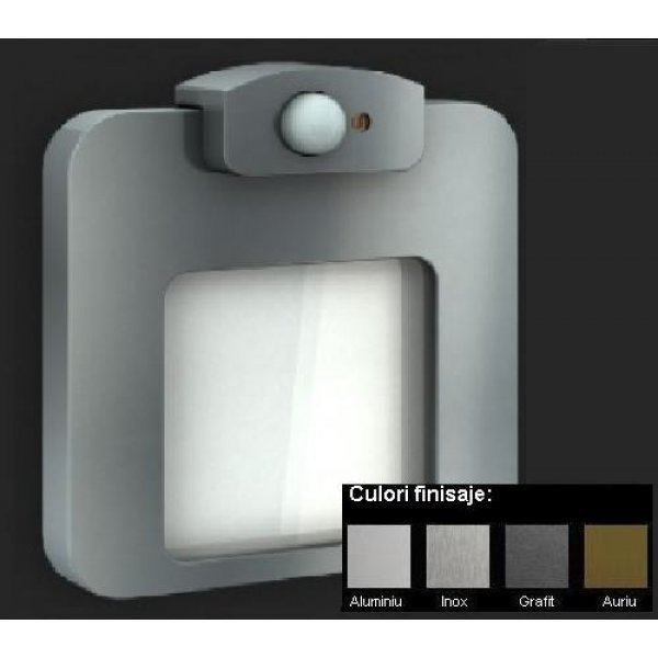 Moza Lampa LED - Monocolor, Senzor de Miscare + Crepuscular