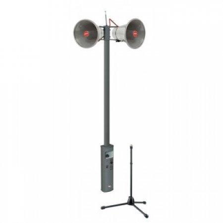 Sonorizare portabila cu difuzoare horn si microfon wireless, PROX Proel