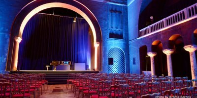Ambasada României redeschide Sala Bizantină cu echipamente Music & Lights