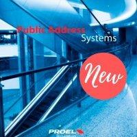 Trei echipamente audio noi de la Proel!