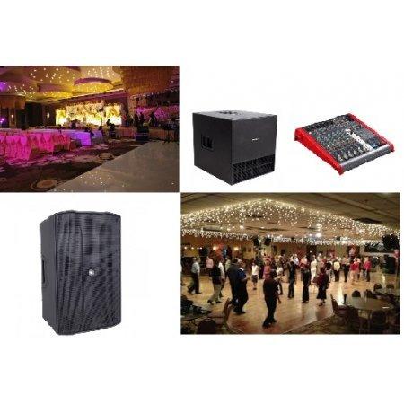 Sistem de sonorizare pentru petreceri